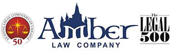Amber Law Company. Logo